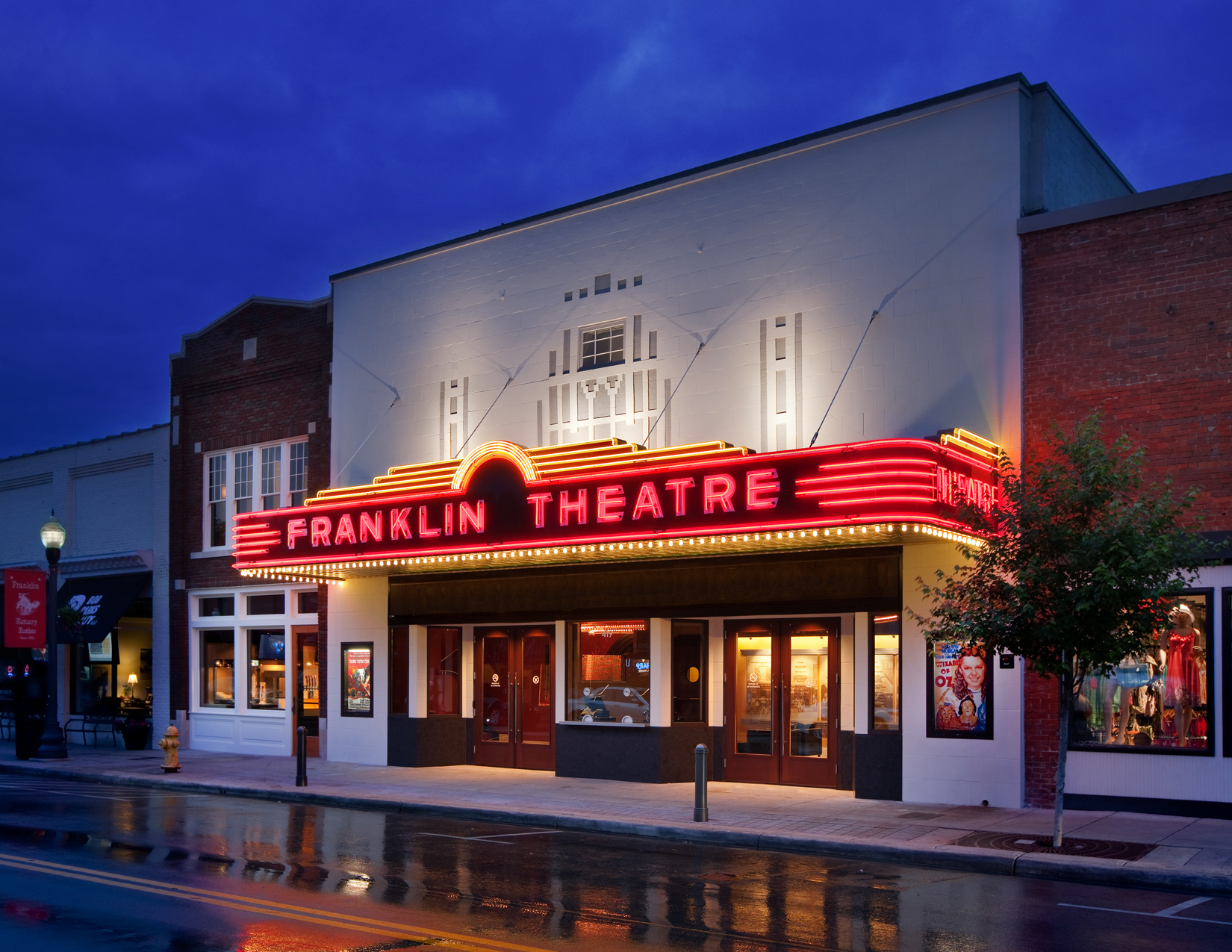 Historic Franklin Theatre Is a Charming Venue for Live ...